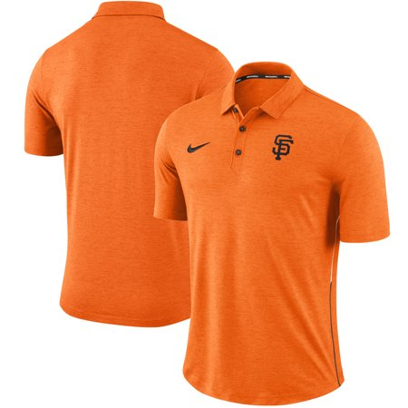 San Francisco Giants Nike Breathe Touch Performance Polo - Heathered (Nike Air Presto Ultra Breathe Arctic Orange)