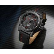 Mens Watches Luxury Luxury Quartz Watch Quartz Watch Men's Watch Men's Waterproof Watch Men's Wrist Watch red