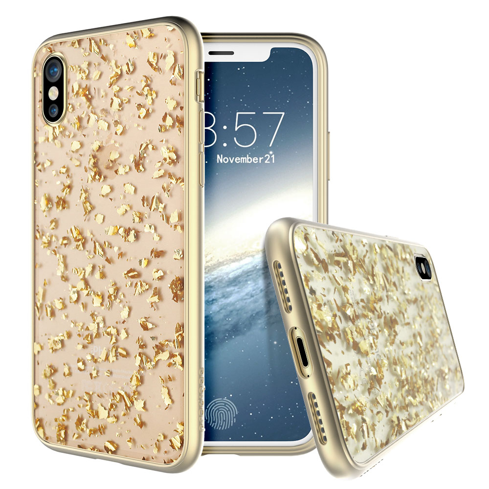 Prodigee Scene Treasure Case for Apple iPhone X - Gold