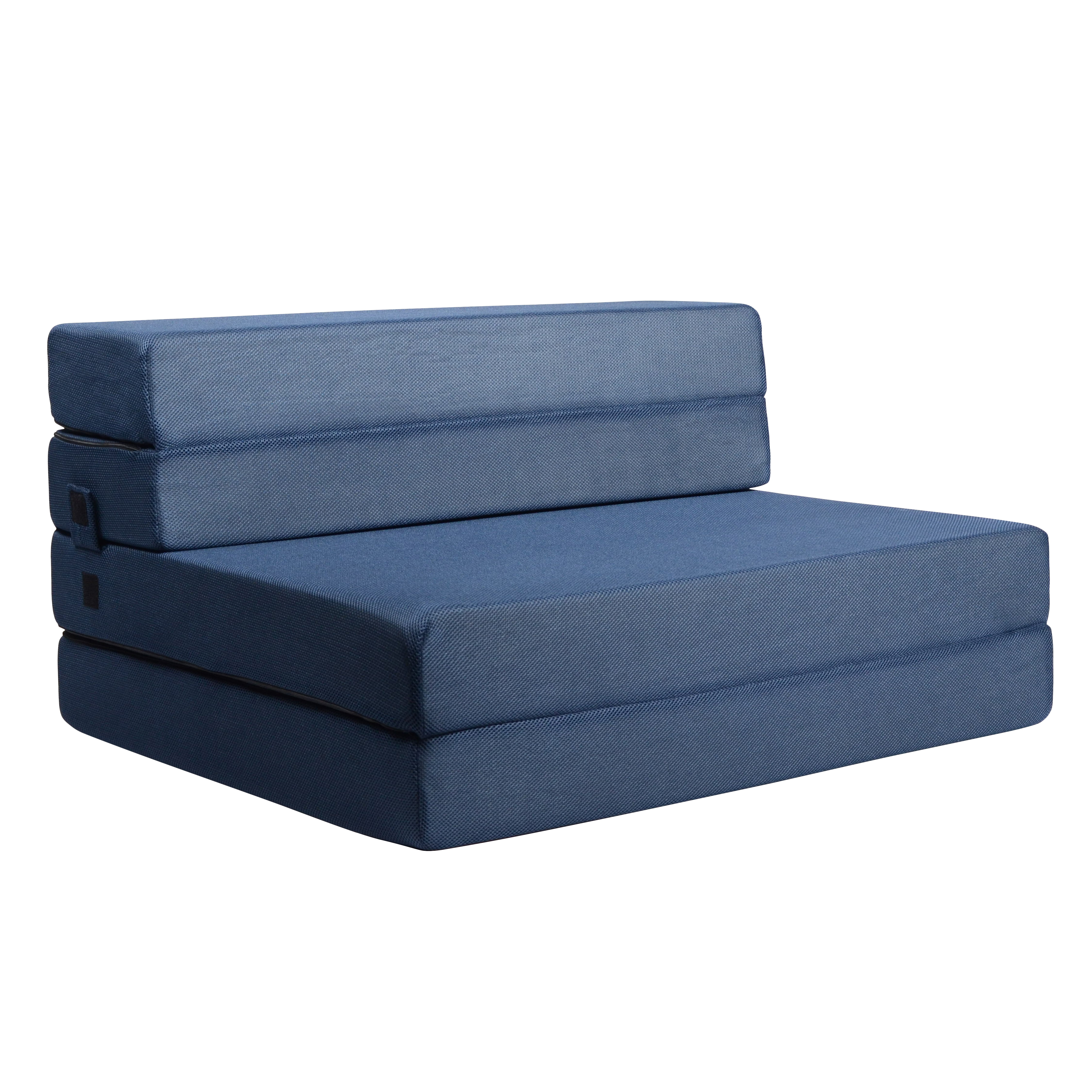 Picture of: Milliard Tri Fold Foam Folding Mattress And Sofa Bed For Guests Or Floor Mat Twin Xl 78x38x4 5 Inch Walmart Com Walmart Com