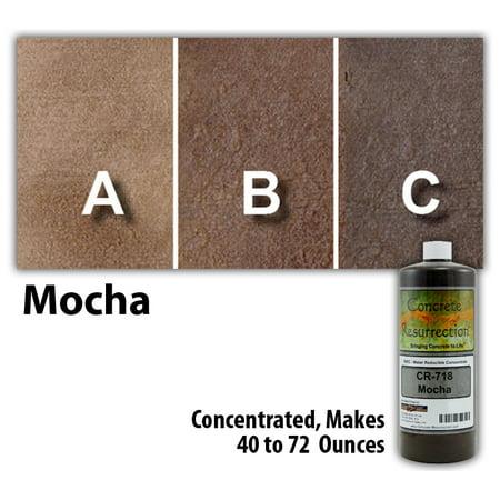 Concrete Resurrection Eco and Environmentally Friendly Concrete Stain Mocha ()