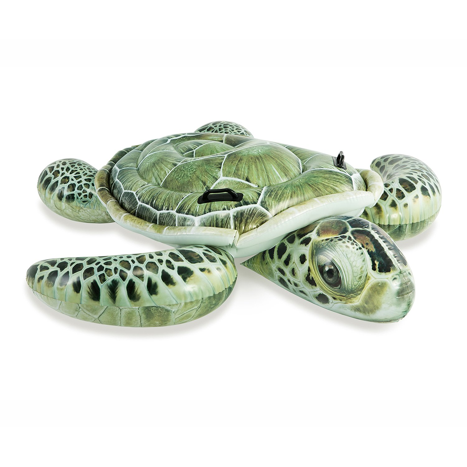 Intex Realistic Sea Turtle Inflatable Ride-On Pool Float with Handles   57555EP