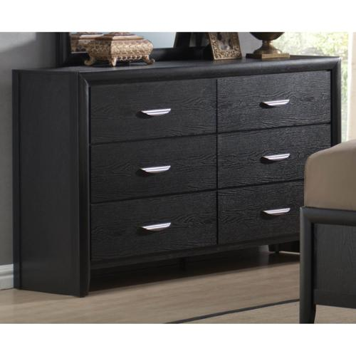 LYKE Home Monica 6-drawer Dresser