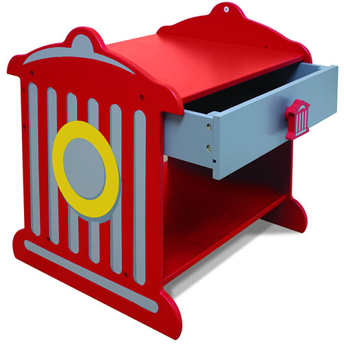 KidKraft - Fire Hydrant Toddler Nightstand