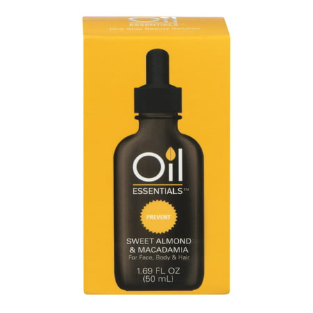 Oil Essentials Prevent Sweet Almond & Macadamia, 1.69 FL OZ