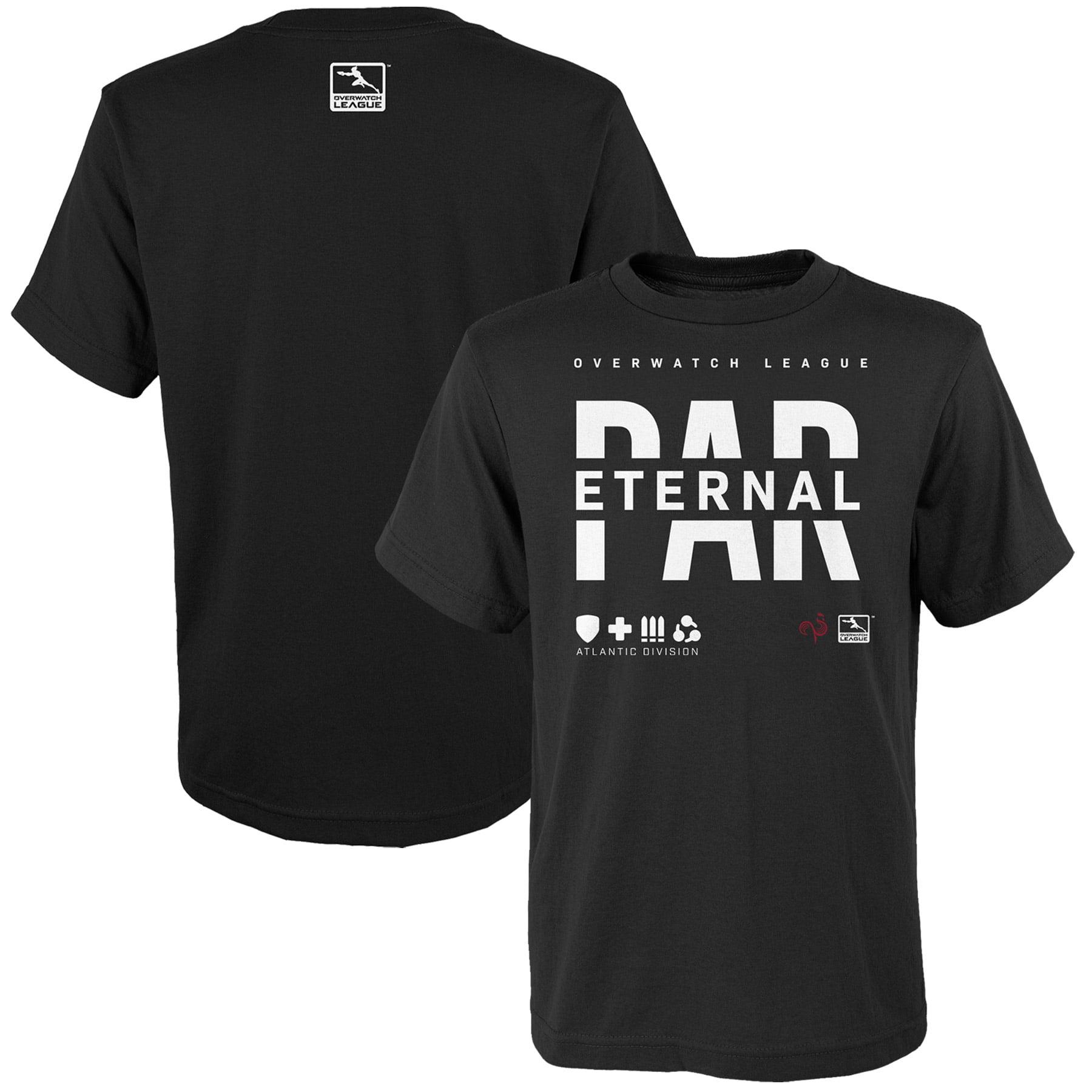 Paris Eternal Youth Overwatch League Splitter T-Shirt - Black