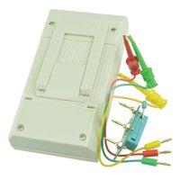 MK-328 TR LCR ESR Tester Transistor Inductance Capacitance Resistance ESR Meter without Battery White