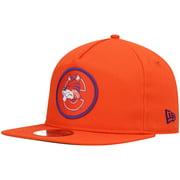 Clemson Tigers New Era Cutty Throwback Golfer Snapback Hat - Orange - OSFA
