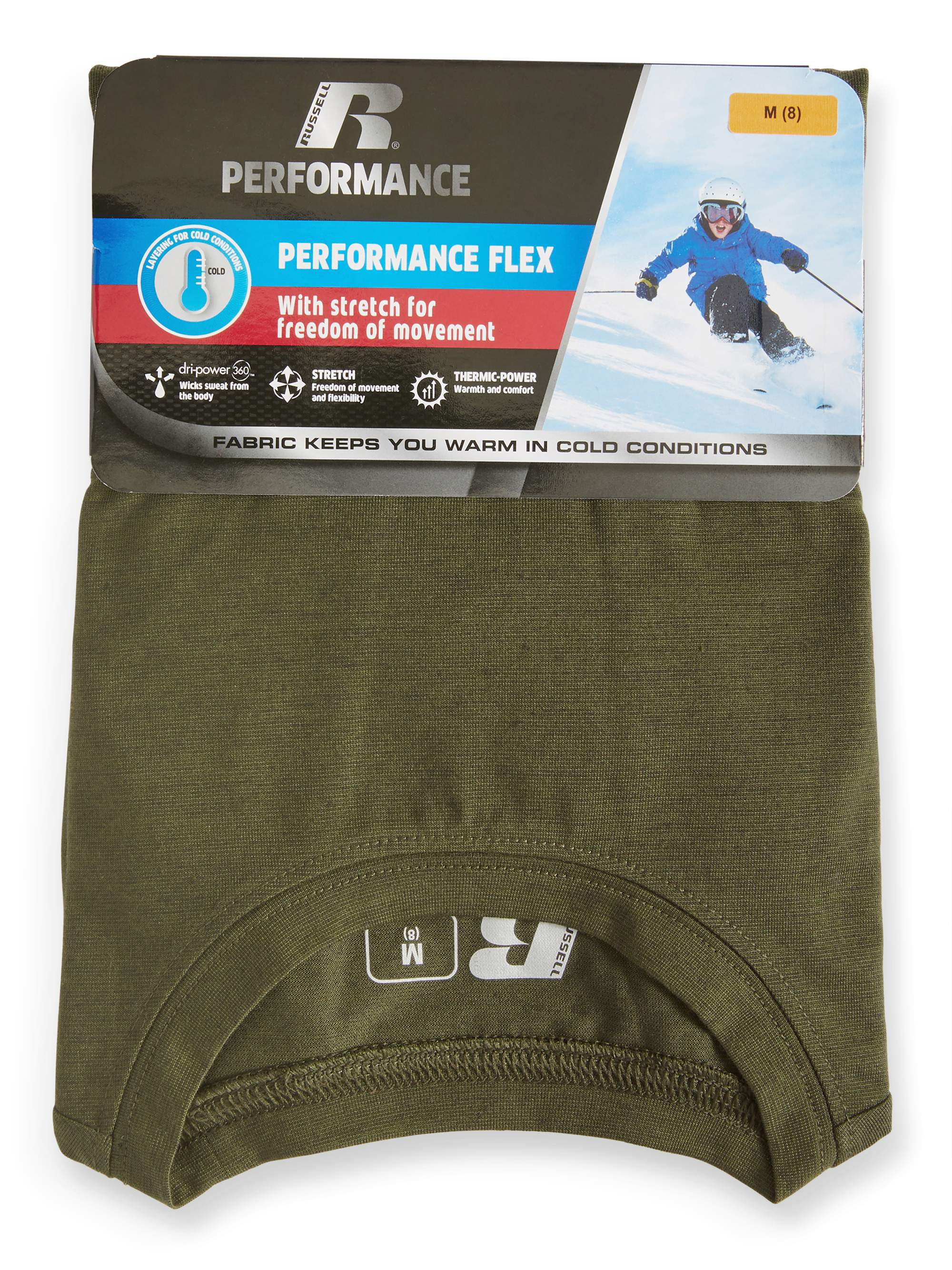 Russell Boys' Core Performance Stretch Thermal Underwear Set (Little Boy & Big Boy)