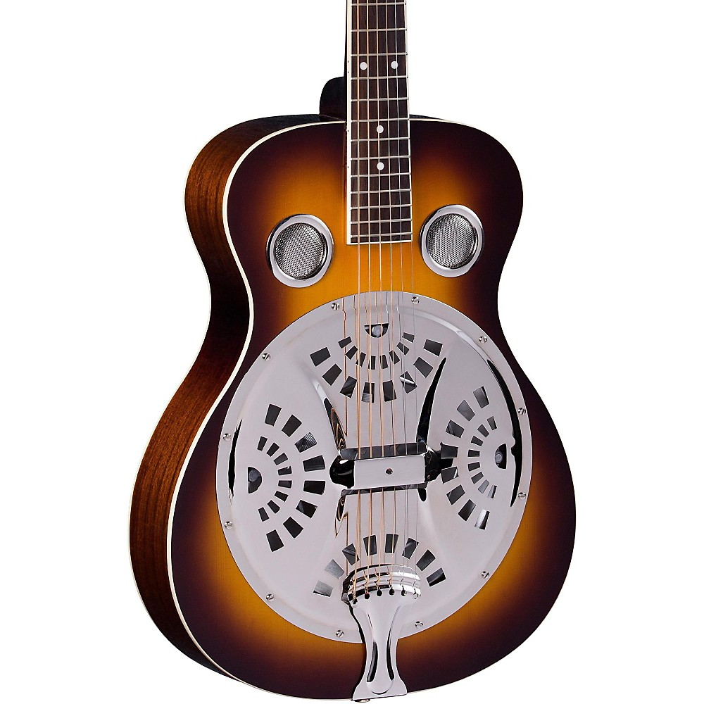 Regal RD-40 Resonator Vintage Sunburst Round Neck by