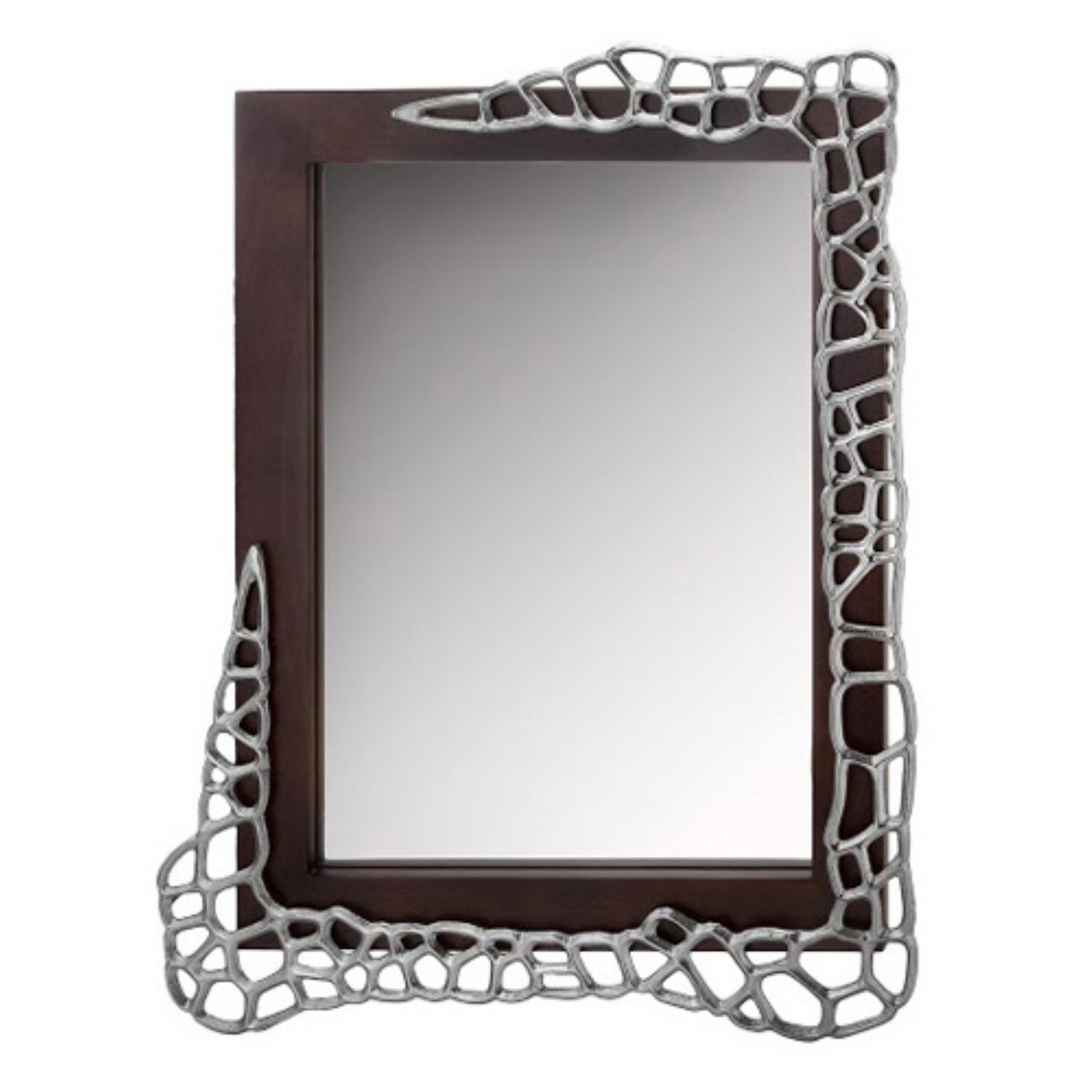 Modern Day Accents OM Colmena Honeycomb Wall Mirror