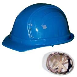 Occunomix V200 Vulcan Hard Hat-6-Point Ratchet Suspension
