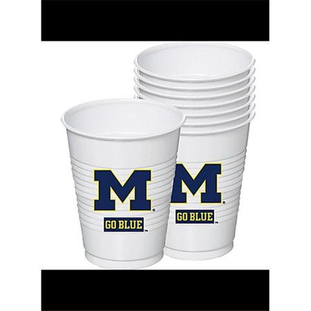Mayflower 37624 8 Count 16 oz Michigan Cup