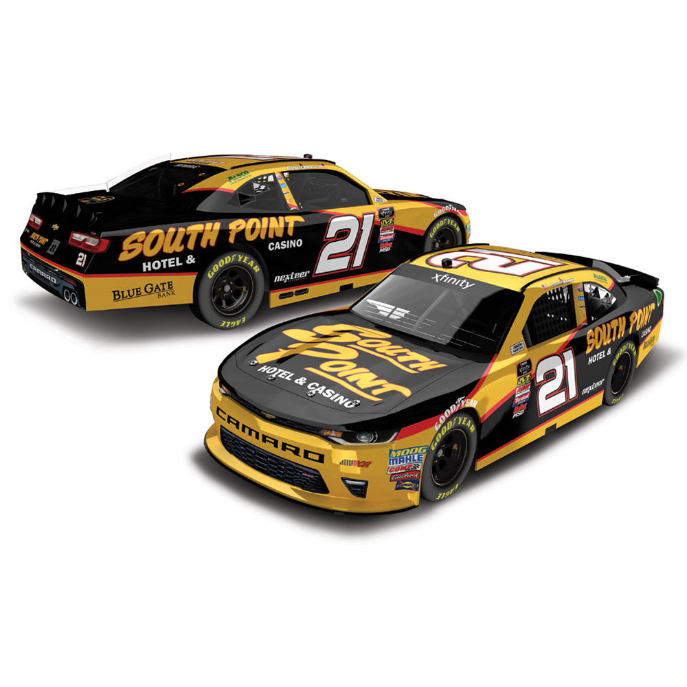 Lionel Racing Daniel Hemric #21 South Point Hotel & Casino 2018 Chevy Camaro 1:24 Scale HO Die-cast