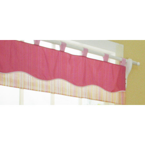 Geenny One Window Valance Girl Dragonfly by Geenny