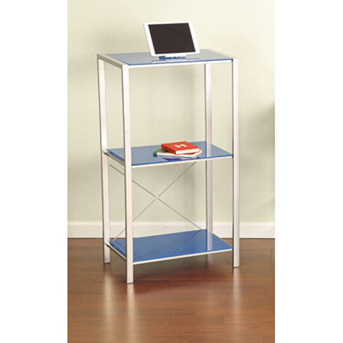 Mainstays Glass Bookcase, Multiple Colors
