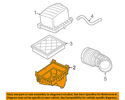 Genuine Chrysler 68142929AA Air Cleaner Body