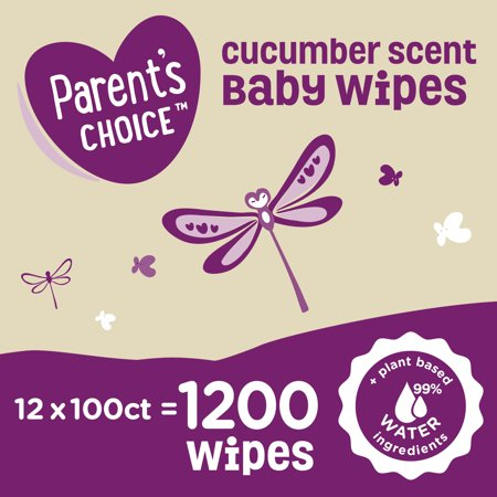 240 Parent's Choice Cucumber Scent Baby Wipes ONLY $4.22 **IN STOCK**