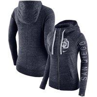San Diego Padres Nike Women's Vintage Full-Zip Hoodie - Navy