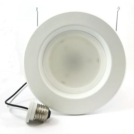 High Quality 5-6 in Recessed LED 12W 3000K Retrofit Downlight Kit - 100w
