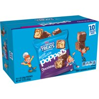 Kellogg's Rice Krispies Treats Snap Crackle Poppers, Crispy Marshmallow Squares, Chocolatey, 10 Ct, 10 Oz