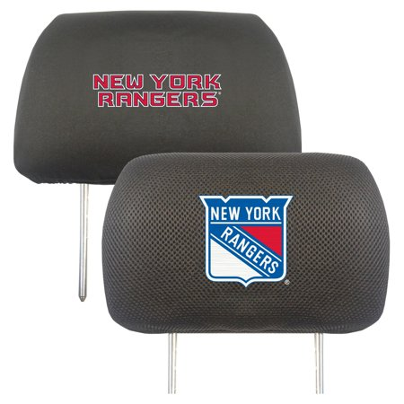 "New York Rangers Head Rest Cover 10""x13"""