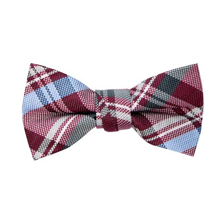 Spring Notion Boy's Tartan Plaid Woven Bow Tie