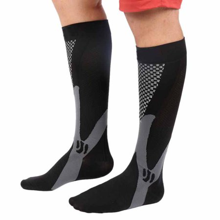 Compression Socks for Men & Women Best Graduated Athletic Fit for Running, Nurses, Shin Splints, Flight Travel & Varicose Vein - Boost Stamina, Circulation &