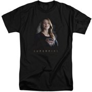 Supergirl Stand Tall Mens Big And Tall Shirt