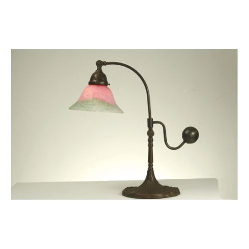 Meyda Tiffany 102407 Tiffany Single Light Counter Balance Desk Lamp by Meyda