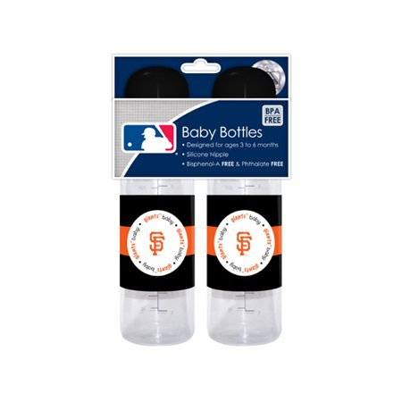 MLB Baby Fanatic Baby Bottle, 2pk, San Francisco Giants