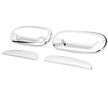 - EAG 97-03 Ford F-150 2 Door Handle Covers Triple Chrome Plated ABS Without Passenger Keyhole