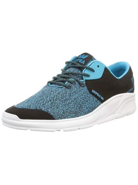 855ddcf0f2f Product Image Supra Mens Noiz Low Top Lace Up Fashion Sneakers, Blue, Size  11.0