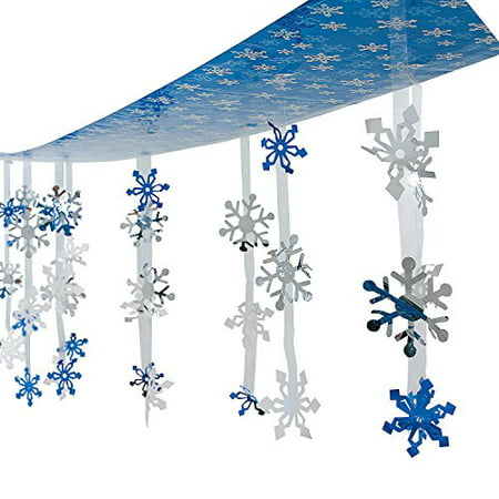 Snowflakes To Hang From Ceiling (Christmas Holiday Snowflakes Ceiling Winter Decoration 12)