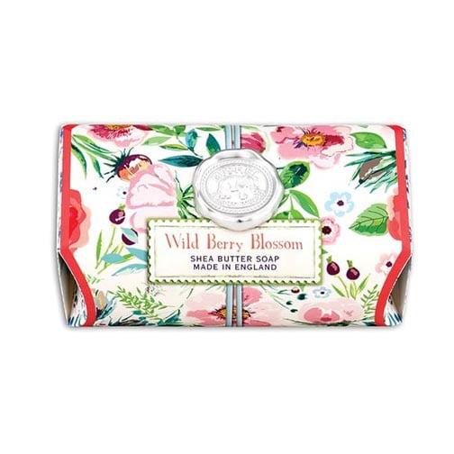Michel Design Works Bath Soap Bar 9 Oz. - Wild Berry Blossom