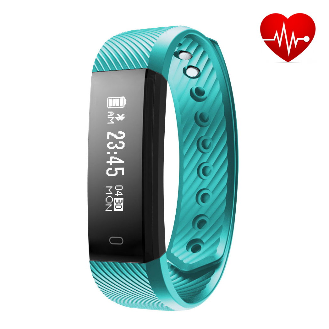 Fitness Tracker, Diggro Smart Bracelet Activity Tracker with Heart Rate Monitor IP67 Waterproof Pedometer Sleep Monitor Call/SMS Reminder Sedentary Reminder for Android IOS