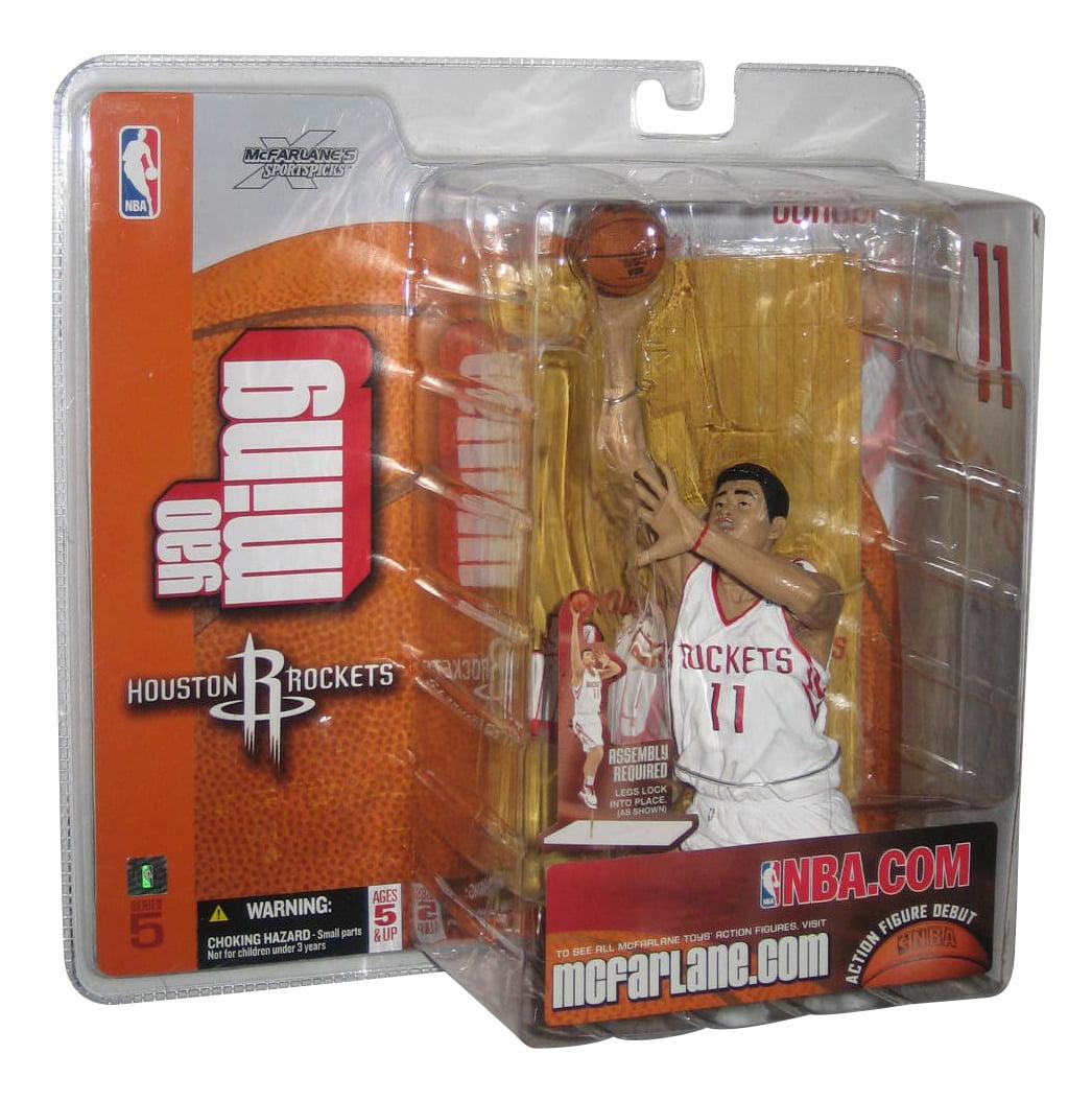NBA Basketball McFarlane Toys Sportspicks Series 5 Yao Ming Figure - (Houston Rockets) White Jersey