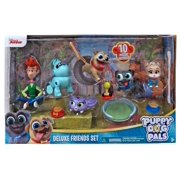 Disney Junior Puppy Dog Pals Deluxe Friends Set Figure 6-Pack