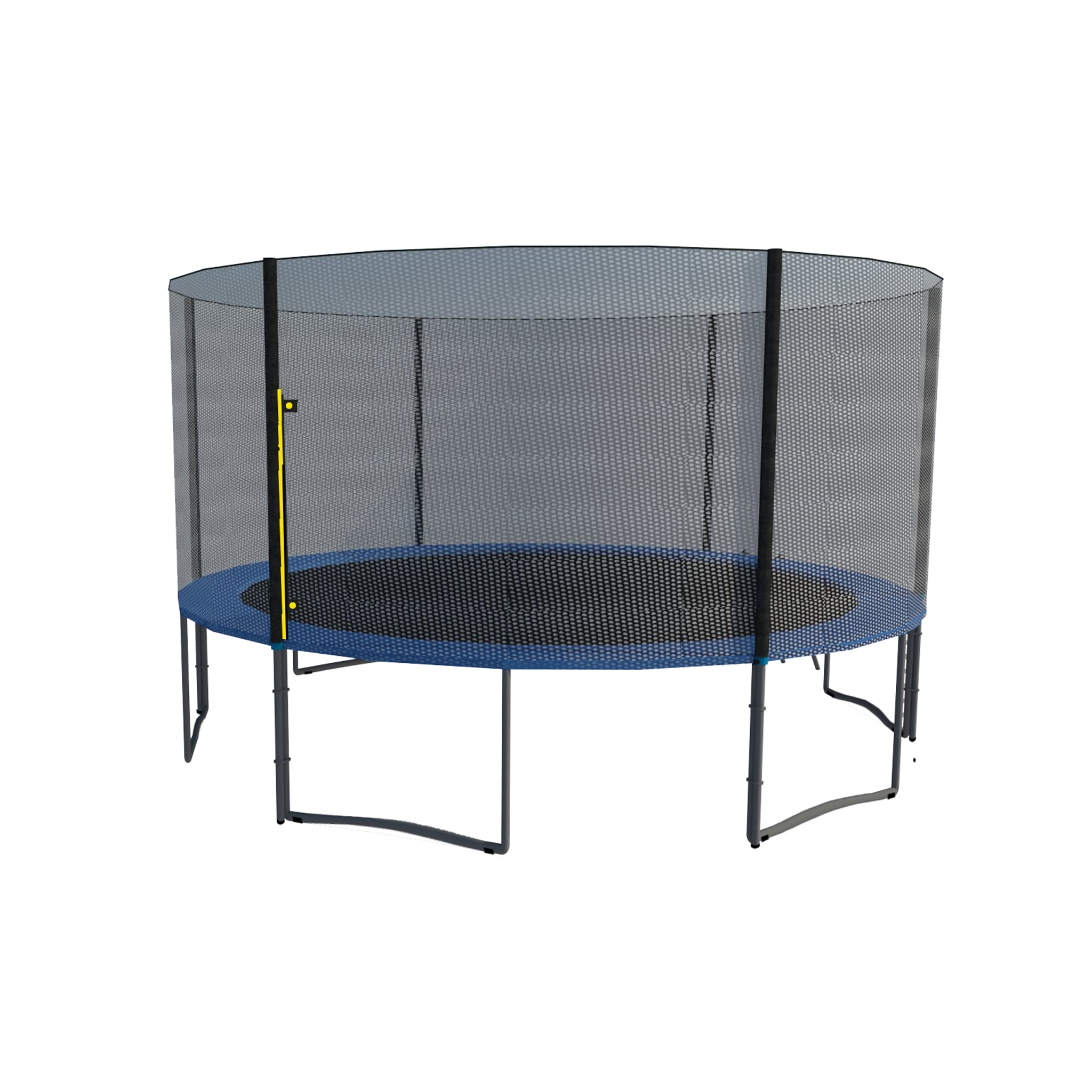ExacMe  15FT Trampoline w/ safety pad & Enclosure Net & l...