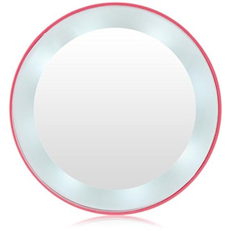 10X Next Generation LED Lighted Mirror, Pink