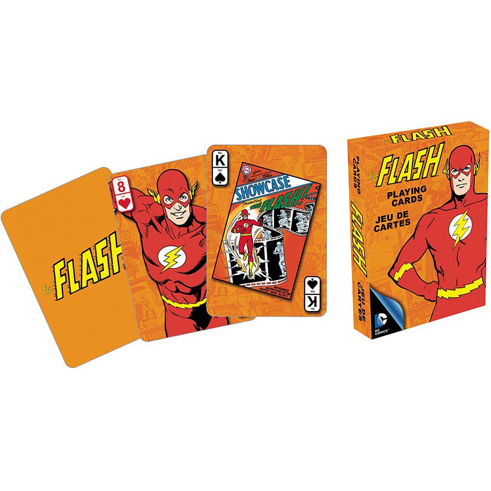 Retro Flash Playing Cards,  Cartoons | Comics by NMR Calendars