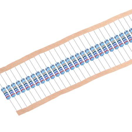 résistance film métal 270k Ohm 1W 1% Tolérance 5 bande couleur Pack 30 - image 4 de 4