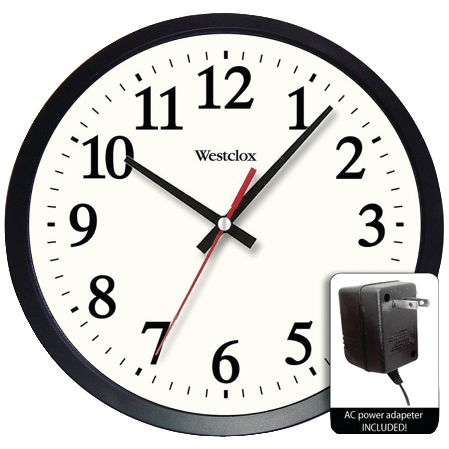 wall clock for office. Westclox 32189A 14\ Wall Clock For Office