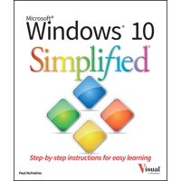 Simplified (Wiley): Windows 10 Simplified (Paperback)