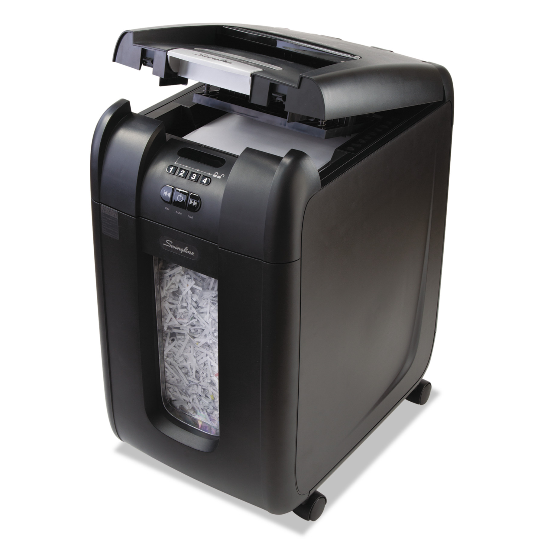 Swingline Stack-and-Shred 300XL Auto Feed Super Cross-Cut Shredder Value Pack, 300 Sheets