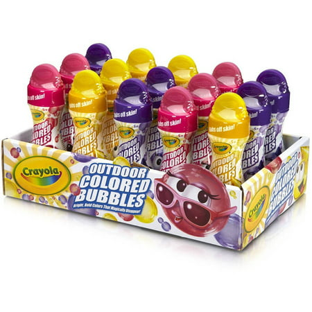 Crayola Colored Bubbles Tray, 15ct (Colored Bubbles)