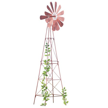 Windmill Spinner Plant Trellis - Wind Spinners Instructions