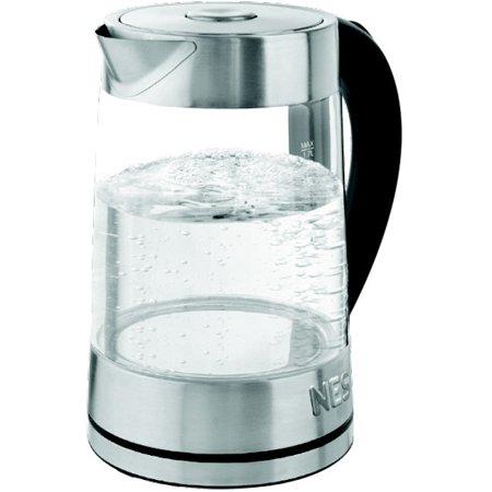 Nesco Glass Water Kettle 1.8 Liter - 1500 W - 1.90 quart - (1500 Water)
