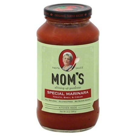 Moms Spaghetti Sauce Moms  Pasta Sauce, 24 oz