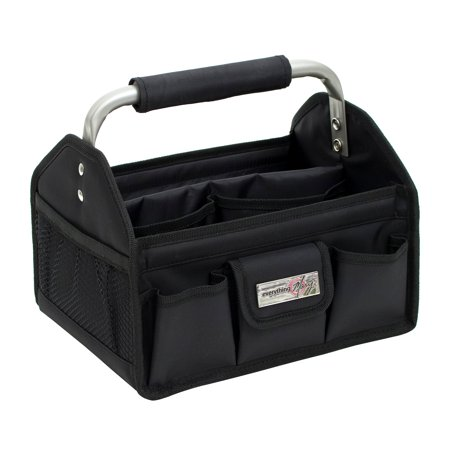 Everything Mary Black Craft Tool Box with Metal Handle - Craft Tool Box